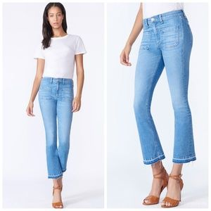 "Veronica Beard Carolyn 10"" Baby Boot Jeans"